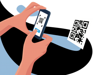 Scan QR Code conveniently with your smartphone