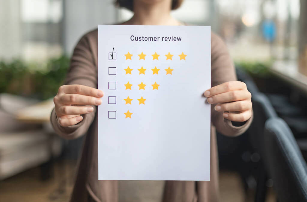 How to get more customer reviews for brick-and-mortar