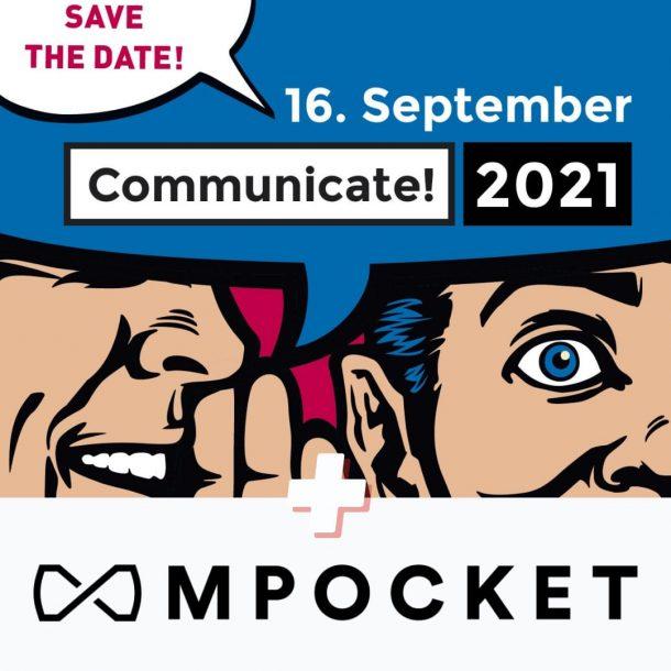 mPocket auf der Communicate! 2021